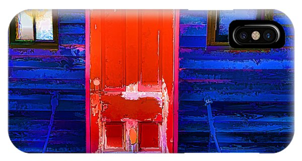 Red Door Harbor IPhone Case