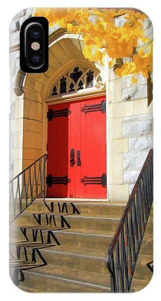 Red Door Tradition IPhone Case