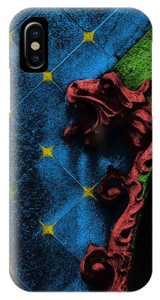 Decorative iPhone Case - Red Dragon by Emme Pons