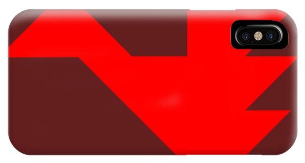 Swanky iPhone Case - Red Dragon Tangram by Roman Pshenitsyn