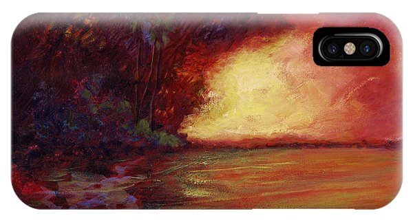 Red Dusk IPhone Case