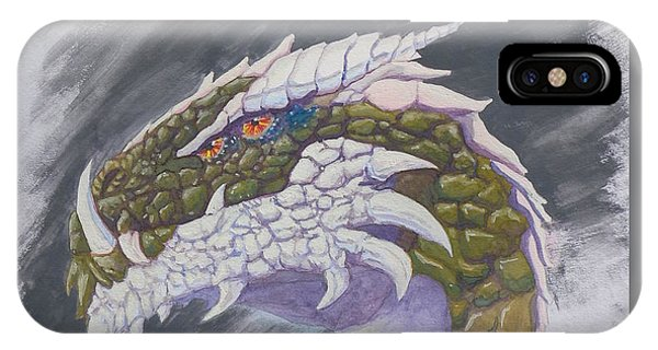 Red Eye Dragon IPhone Case