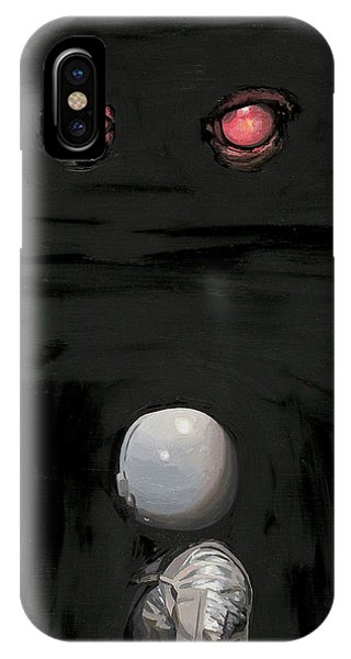 Professional iPhone Case - Red Eyes by Scott Listfield