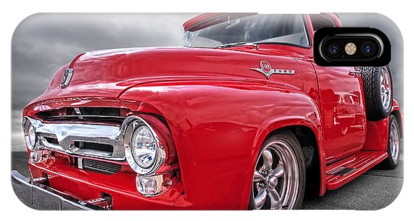 Trucking iPhone Case - Red F-100 by Gill Billington