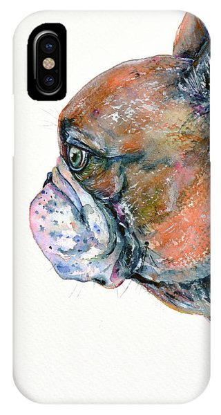 Red Fawn Frenchie IPhone Case