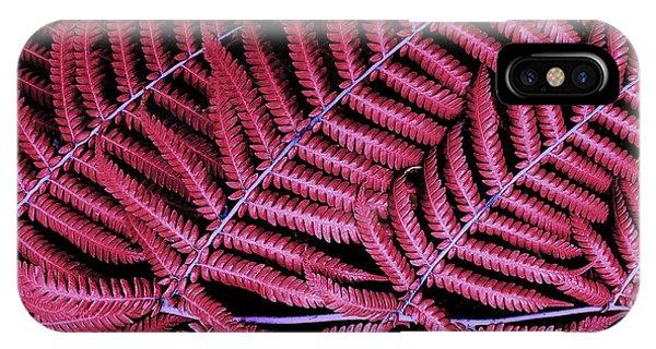 Red Fern IPhone Case