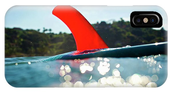 Red Fin IPhone Case