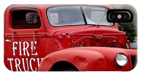 Red Fire Truck IPhone Case