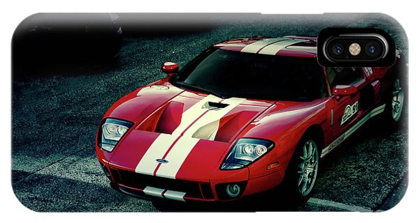 Red Ford Gt IPhone Case