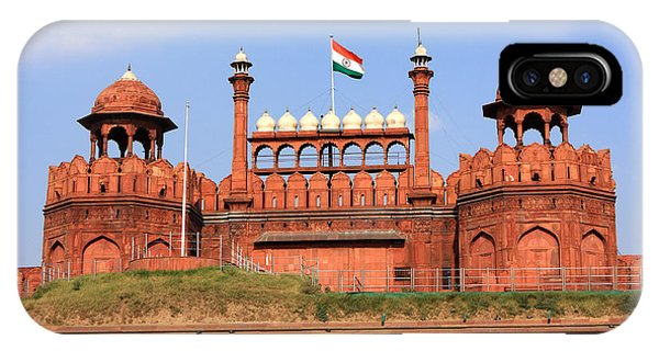 Red Fort New Delhi IPhone Case