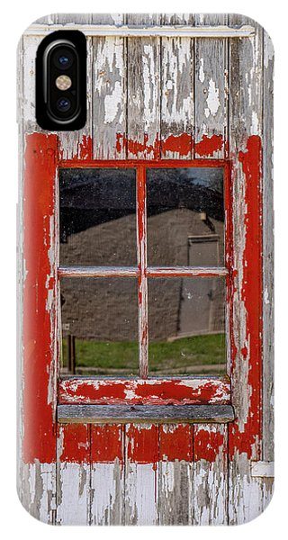 Red-framed Window IPhone Case