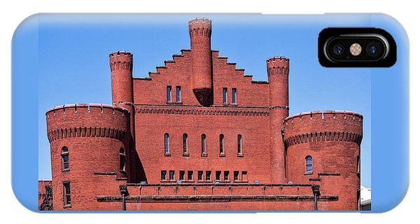 Red Gym - Uw Madison, Wisconsin IPhone Case