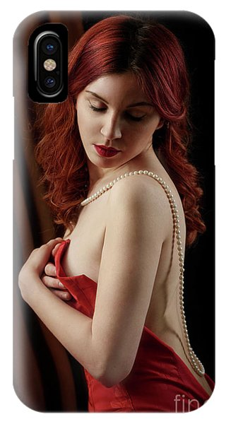 Red Hair Woman IPhone Case