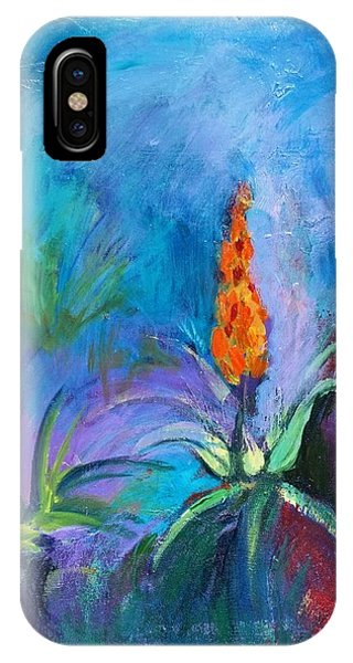 Red Hot Poker IPhone Case