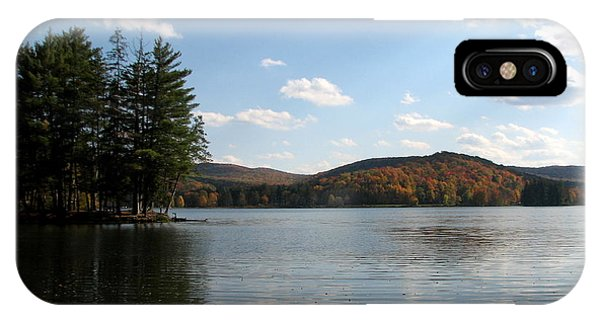 Red House Lake Allegany State Park Ny IPhone Case