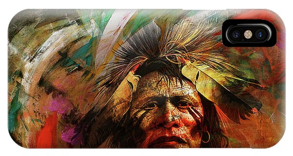 Red Indians 02 IPhone Case