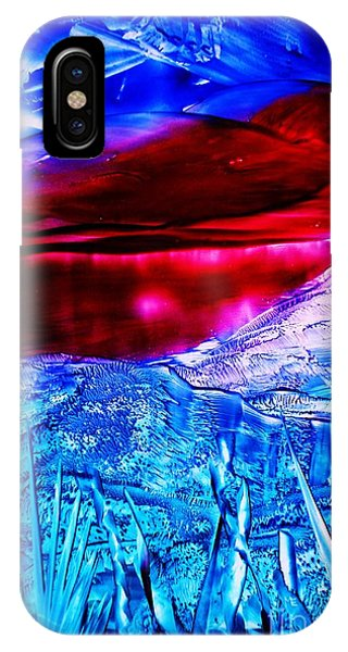 Red Lake IPhone Case