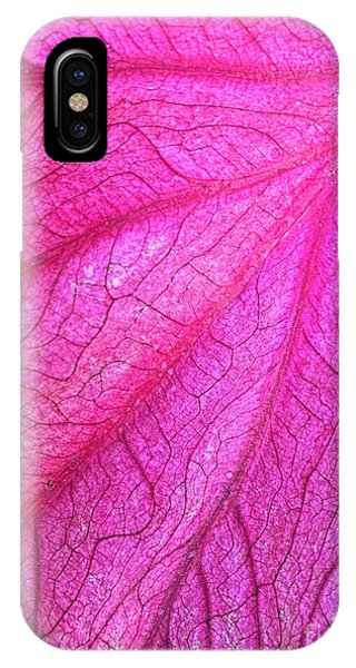 Red Leaf Arteries IPhone Case