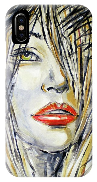 Red Lipstick 081208 IPhone Case