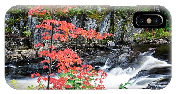 Red Maple Gulf Hagas Me. IPhone Case