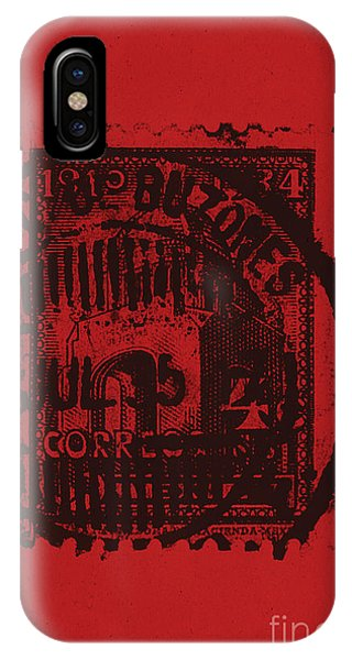 Simple iPhone Case - Red Mark by Brian Drake - Printscapes