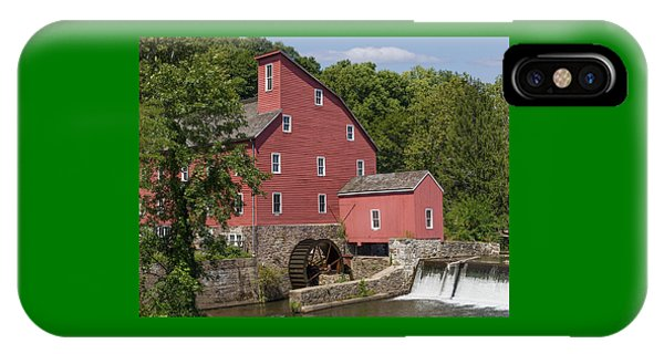 Red Mill At Clinton IPhone Case