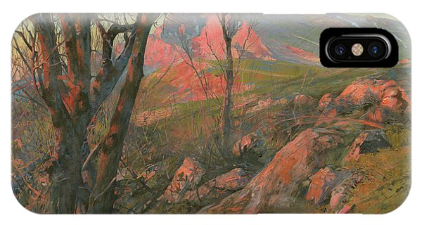 iPhone Case - Red Morning On The Chatir-dag In May  by Denis Chernov