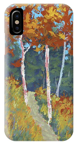 Red Mountain Aspens IPhone Case