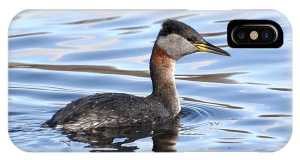 Red-necked Grebe IPhone Case