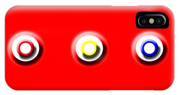 Red Nine Squared IPhone Case