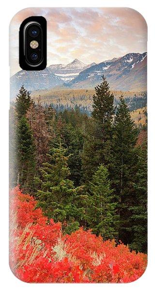 Red Oak Vertical IPhone Case