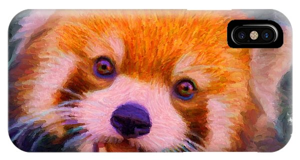 Red Panda Cub IPhone Case