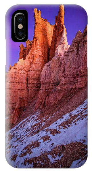 Red Peaks IPhone Case