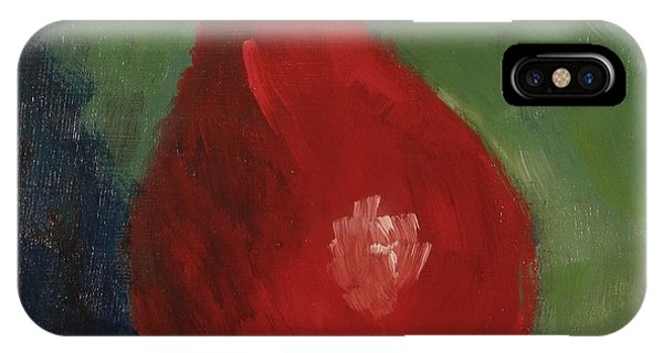 Red Pear IPhone Case
