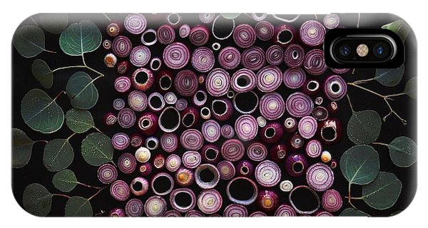 Red Pearl Onions IPhone Case