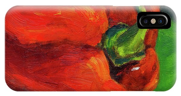 Red Pepper Still Life IPhone Case