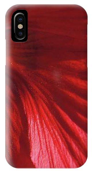 iPhone Case - Red Petals by Megan Cohen