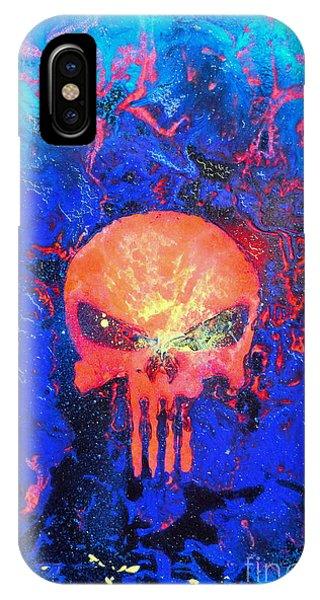 Red Punish IPhone Case
