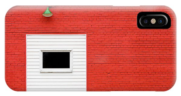Red, Red Wall IPhone Case