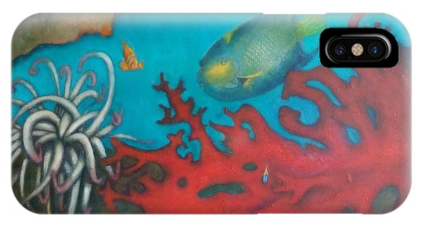 Red Reef IPhone Case