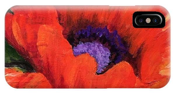 Red Rhapsody IPhone Case