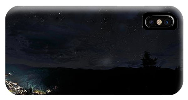 Red River Under Starry Skies IPhone Case