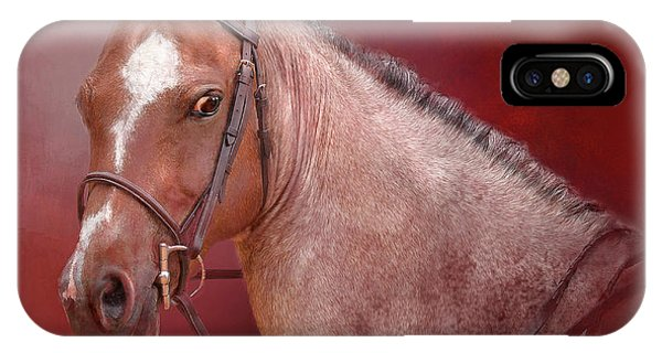 Red Roan IPhone Case