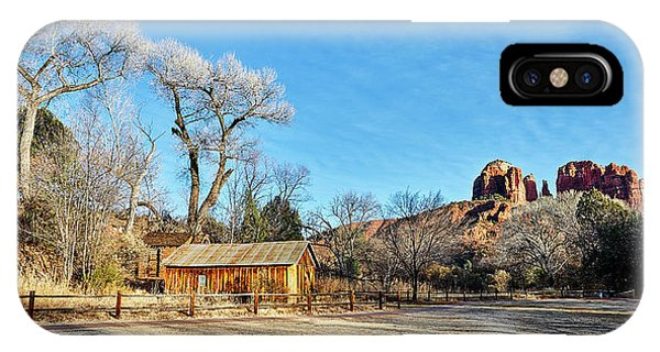 Red Rock Afternoon IPhone Case