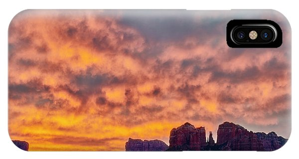 Red Rock In The Morning IPhone Case