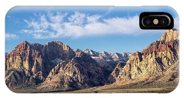 Red Rock Morning IPhone Case