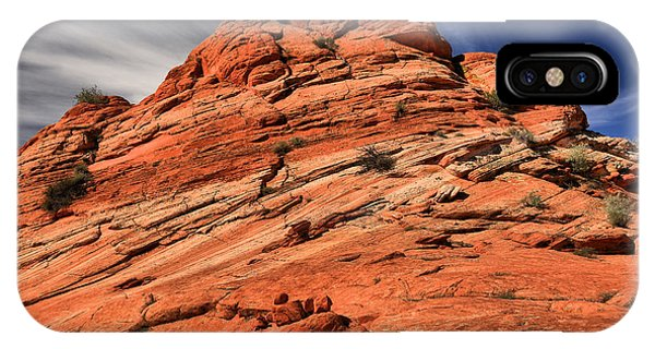 Red Rock Mountainscape IPhone Case
