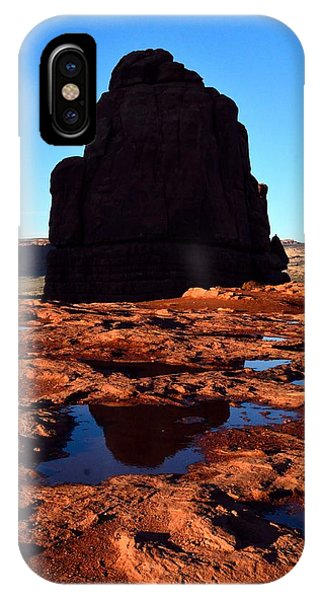 Red Rock Reflection At Sunset IPhone Case