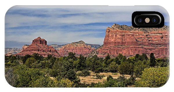 Red Rock Scenic Drive IPhone Case