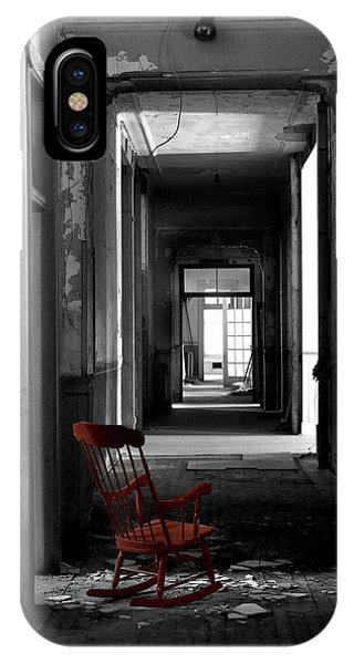 Red Rocker - Preston Castle IPhone Case